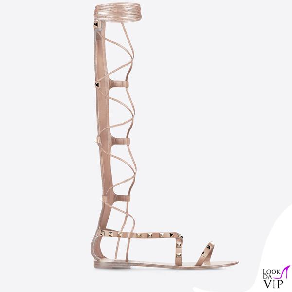 sandali gladiator Valentino Rockstud