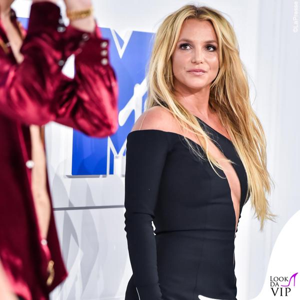 Britney Spears VMAs 2016 abito Julien MacDonald