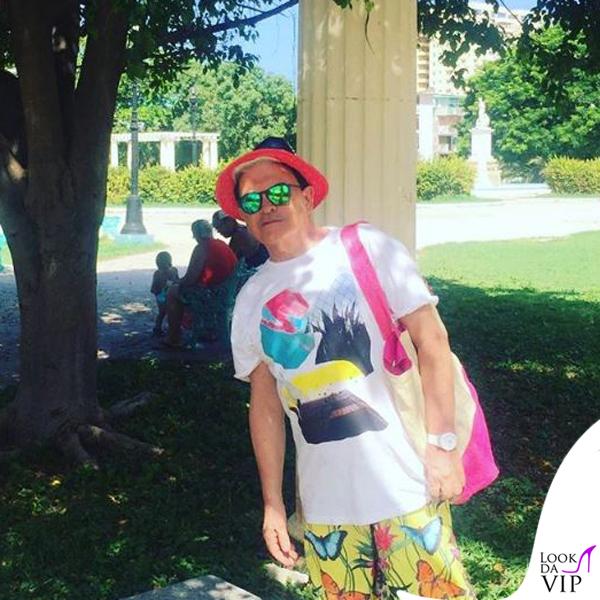 Cristiano Malgioglio Cuba costume Pin-up Stars 2