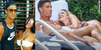 Cristiano Ronaldo smalto unghie nere