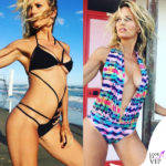 Justine Mattera costume Cheeky Pay e Belaflor