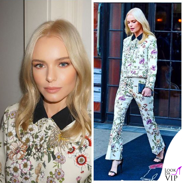 Kate Bosworth completo Valli Resort sandali Giuseppe Zanotti Design