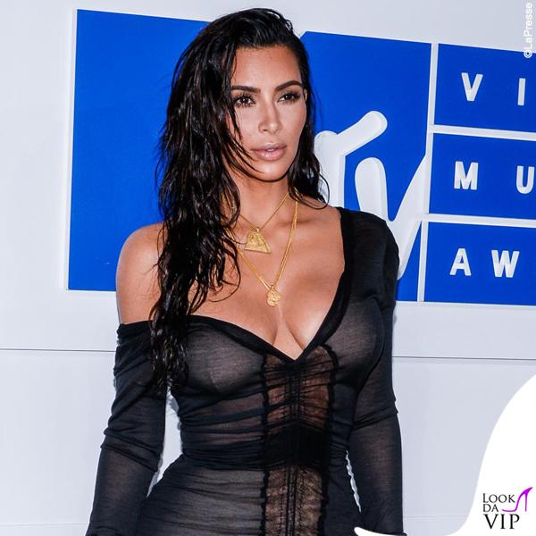 Kim Kardashian VMA's 2016 abito John Galliano
