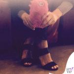 Luisa Ranieri sandali Givenchy