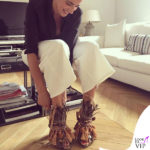 Luisa Ranieri scarpe N21