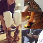 Luisa Ranieri, #naturalmentepazza di scarpe