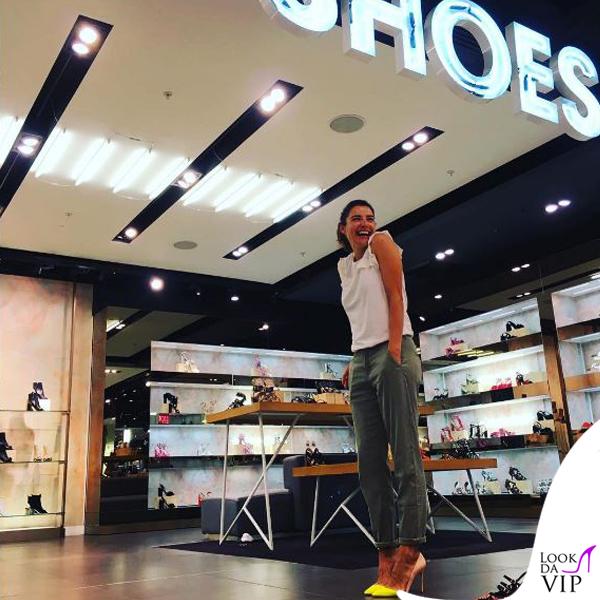 Luisa Ranieri scarpe #Sciuèshoes