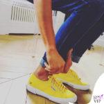 Luisa Ranieri scarpe Superga