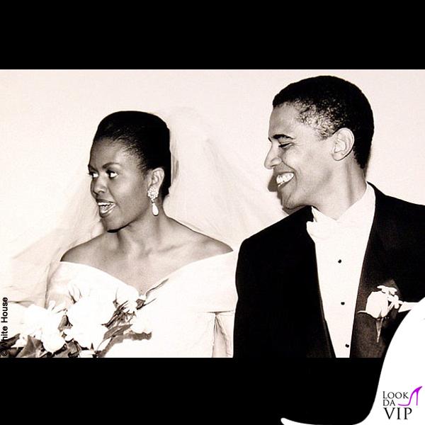 Matrimonio Barack e Michelle Obama 2