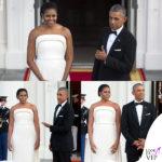 Barack Obama fa le smorfie per Michelle