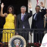 Michelle Obama abito Naeem Khan 2