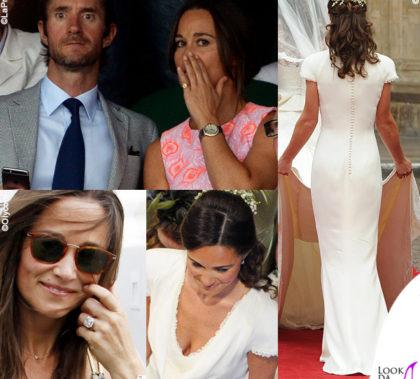 Pippa Middleton abito da sposa
