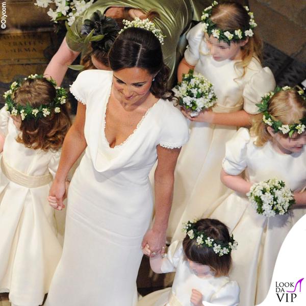 Matrimonio Pippa Middleton : Pippa middleton matrimonio kate e william abito temperley look da vip
