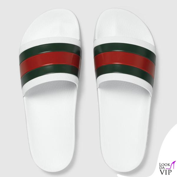 new concept d155e fd02e ciabatte Gucci - Look da Vip