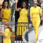 Eva, Kate, Michelle: ecco le signore in giallo