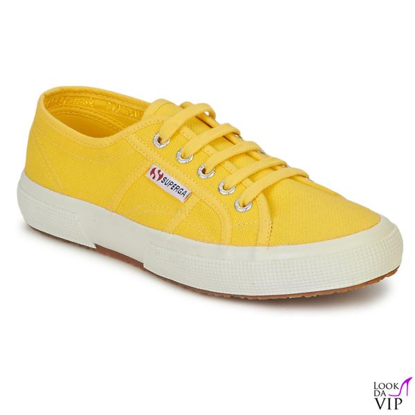 scarpe Superga gialle