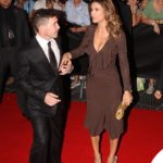 Elisabetta Canalis Celebrity Fight Night Italy sandali Giuseppe Zanotti Design 3