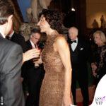 Agnese Landini Renzi Celebrity Fight Night Italy abito borsa Ermanno Scervino 2