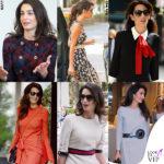 Amal Clooney, 40.000€ di vestiti in 15 giorni