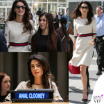 Amal Clooney in campo contro Isis (in Gucci)