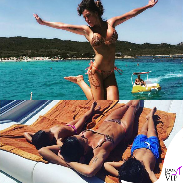 Claudia Galanti bikini Pin-up Star