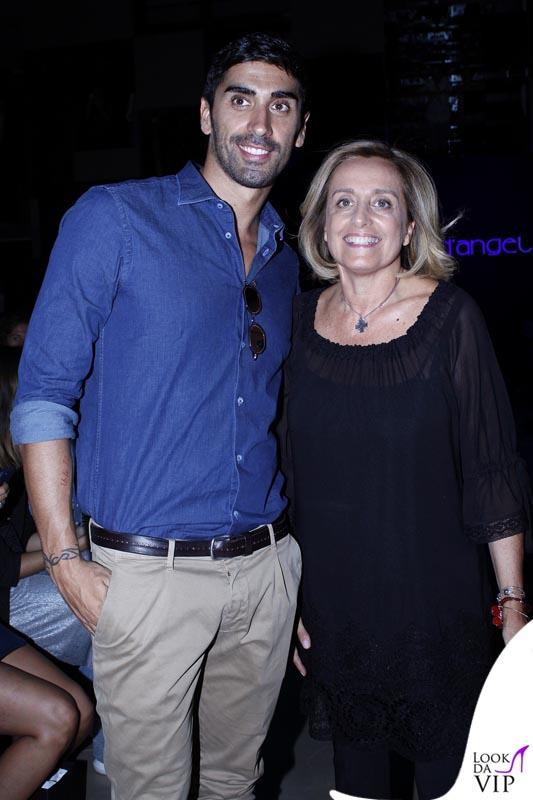 Filippo Magnini e Raffaella D'Angelo