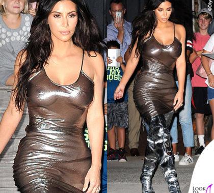 Kim Kardashian stivali Balenciaga