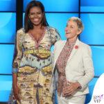 Michelle Obama coi sentimenti addosso