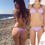 Valentina Vignali bikini Sun Sisters rosa 2