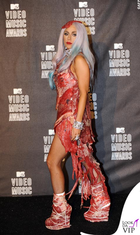 Lady Gaga agli MTV Video Music Awards 2010