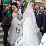 matrimonio Cristel Carrisi abito Monique Lhuillier 2