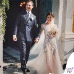 matrimonio Gabriella Pession abito Alberta Ferretti