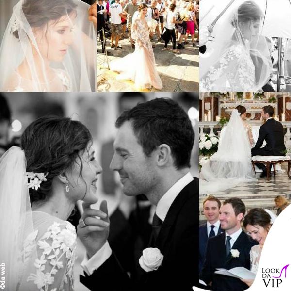 matrimonio Gabriella Pession abito Alberta Ferretti 3