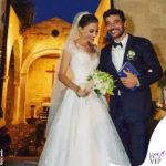 matrimonio Margareth Madè abito Armani Privè