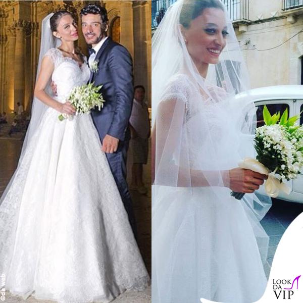 matrimonio Margareth Madè abito Armani Privè 2
