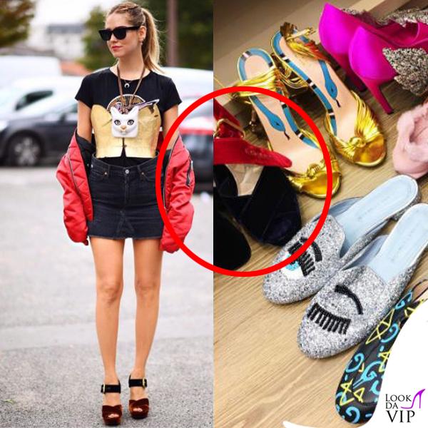 sports shoes 871d8 1b17f chiara-ferragni-sandali-prada - Look da Vip