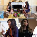 Casa Bianca, Melania vs Michelle: sfida di look
