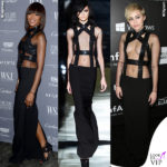 naomi-campbell-miley-cyrus-abito-tom-ford-ss-2015-instagram