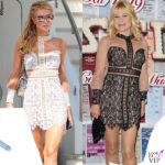 Paris Hilton (35) e Patrizia Pellegrino (54) in For Love and Lemons