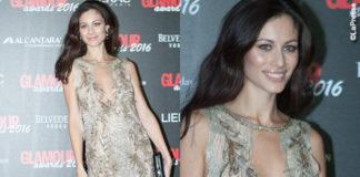 marica-pellegrinelli-glamour-awards-abito-alberta-ferretti-scarpe-jf-london