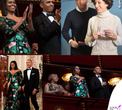 michelle-obama-kennedy-center-honours-abito-gucci-matteo-agnese-renzi-maglione-scervino