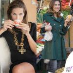 Veronica Maya compra la frutta a Lipari