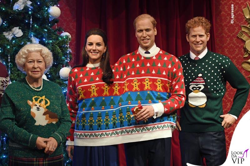Natale Reale.Londra La Famiglia Reale Britannica In Versione Natalizia