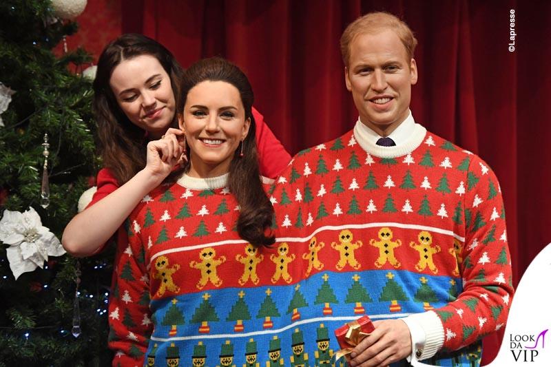 Natale Reale.Kate E William Accoppiati Per Natale Lookdavip