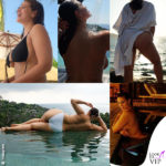 Ashley Graham in un crescendo di sensualità