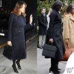 Michelle e Carla: look (uguale) da ex First Lady