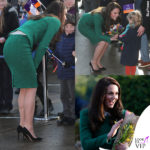 Kate Middleton e il tailleur che fascia le forme