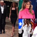 Melania Trump batte gli stilisti detrattori