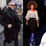 Tina sfila per Gaultier, Vincent corre da lei