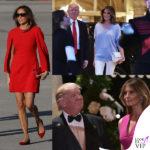 Trump dà il dress code, Melania toglie i tacchi